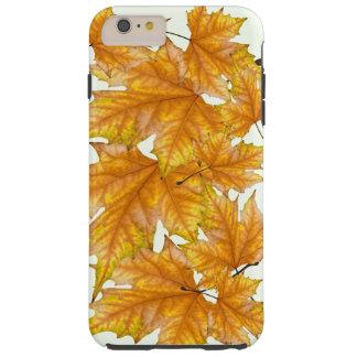 Maple leaves foliage tough iPhone 6 plus case