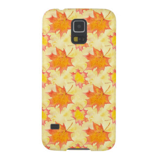 Maple Leaves Galaxy S5 Cover
