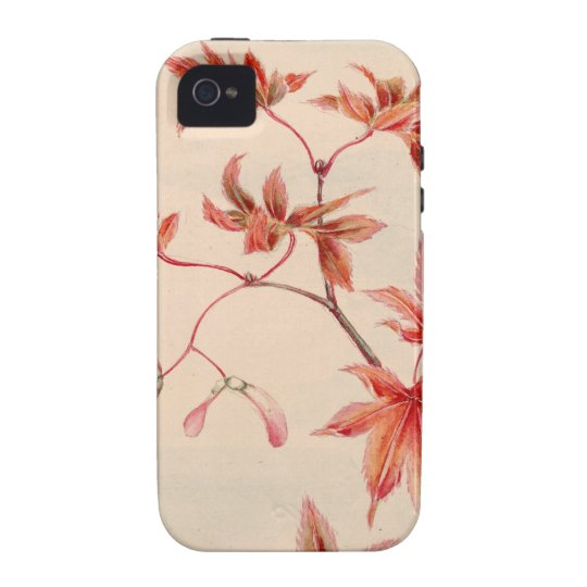 Maple leaves iPhone 4 Case-Mate Case