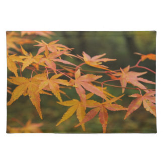 maple leaves placemat