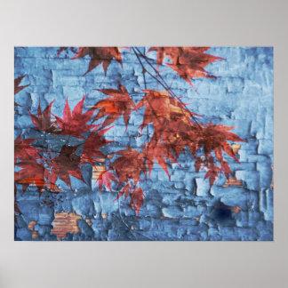 Maple Leaves Print