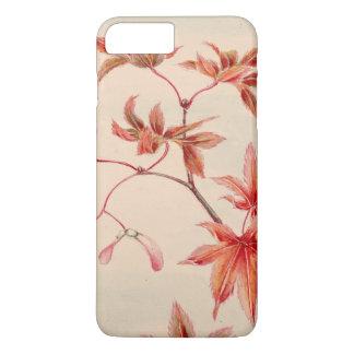 Maple leaves (Vintage Japanese print) iPhone 8 Plus/7 Plus Case