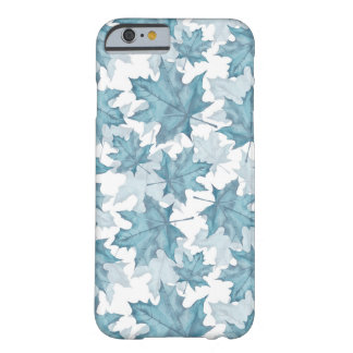 Maple leaves. Watercolor pattern Barely There iPhone 6 Case