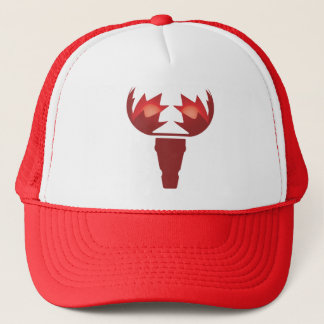 Maple Moose Trucker Cap