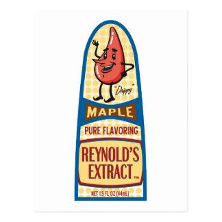 Maple Postcard