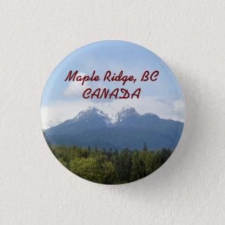 Maple Ridge, BC, CANADA Souvenir Button