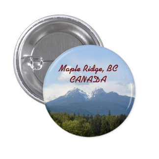 Maple Ridge, BC, CANADA Souvenir Button