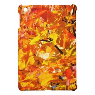 Maple tree autumn leaves case for the iPad mini