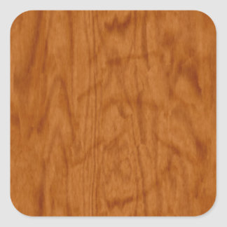 Maple Wood at It's Best Square Sticker