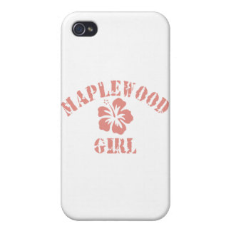 Maplewood Pink Girl iPhone 4/4S Cases