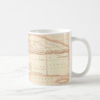 Mappa di Eratostene old world map Mugs