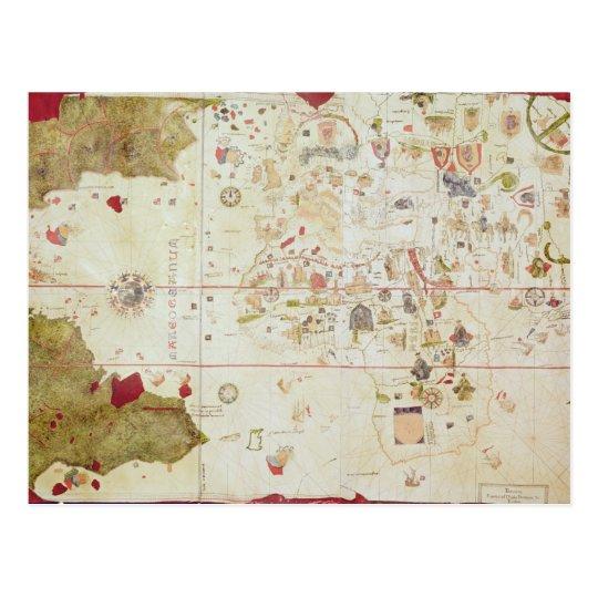 Mappa Mundi, 1502 Postcard