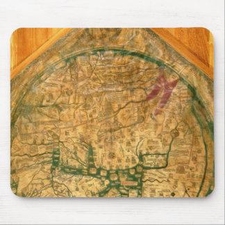 Mappa Mundi c 1290 Mousepads