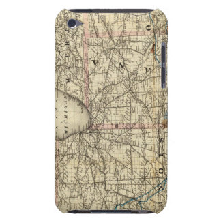 Maps showing the Indiana Barely There iPod Covers