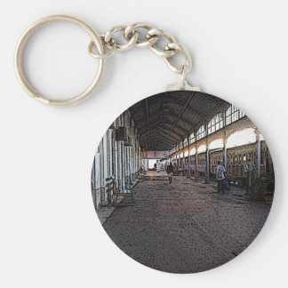 Maputo Railway Station Key Chain