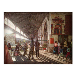 Maputo Railway Station Postcard