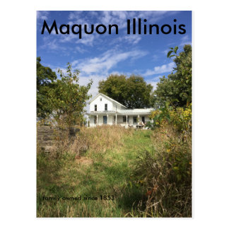 Maquon Illinois post card