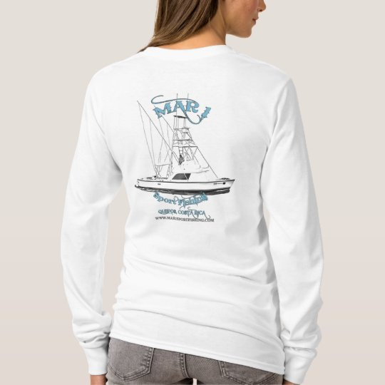 Mar1 31' Bertram Dry fit Long Sleeve T-Shirt