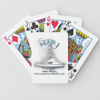 Mar1 Sport Fishing 31' Bertram Playing Cards