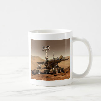 Mar rover space design coffee mug
