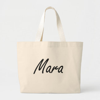 Mara artistic Name Design Jumbo Tote Bag