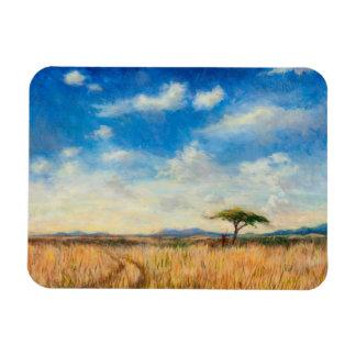 Mara Landscape 2012 Rectangular Photo Magnet