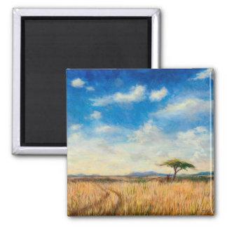 Mara Landscape 2012 Square Magnet