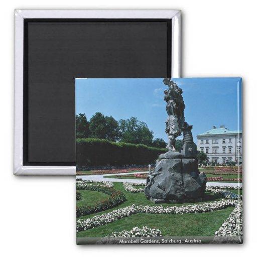 Marabell Gardens, Salzburg, Austria Magnets