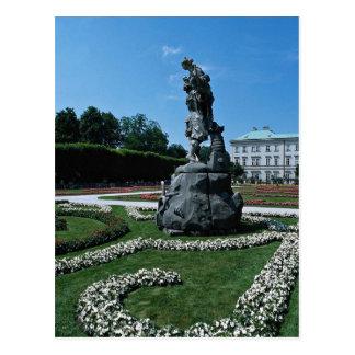 Marabell Gardens Salzburg Austria Postcard