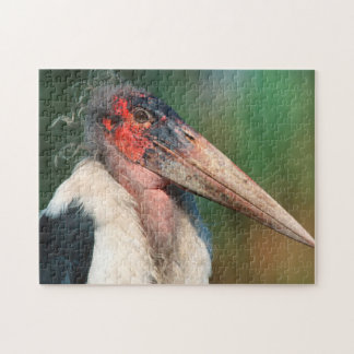 Marabou Stork (Leptoptilos Crumeniferus) Jigsaw Puzzle