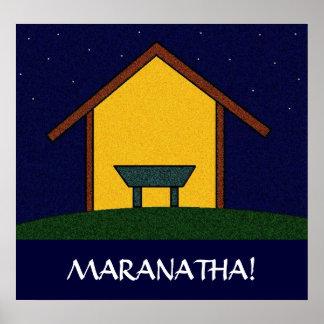 MARANATHA! POSTER