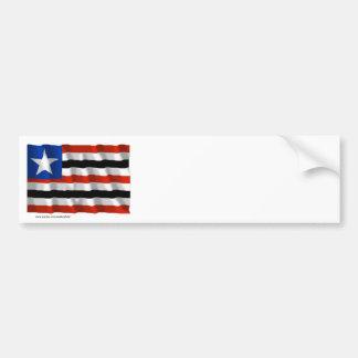 Maranhão, Brazil Waving Flag Bumper Sticker