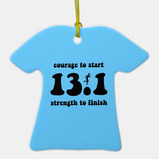 marathon ceramic T-Shirt decoration