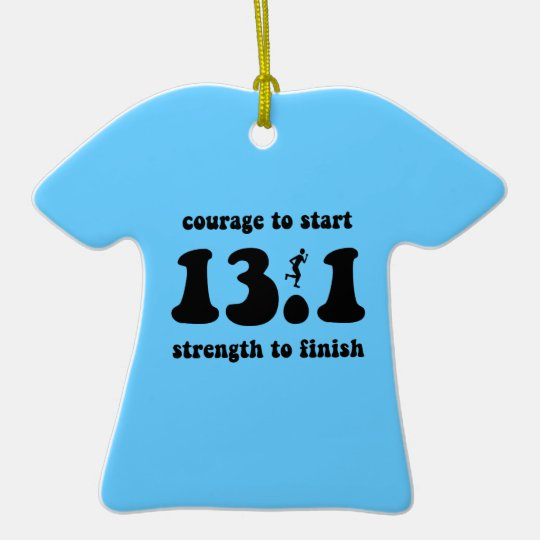 marathon ceramic T-Shirt decoration