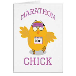 Marathon Chick Card
