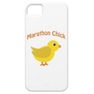 Marathon Chick iPhone 5 Cover