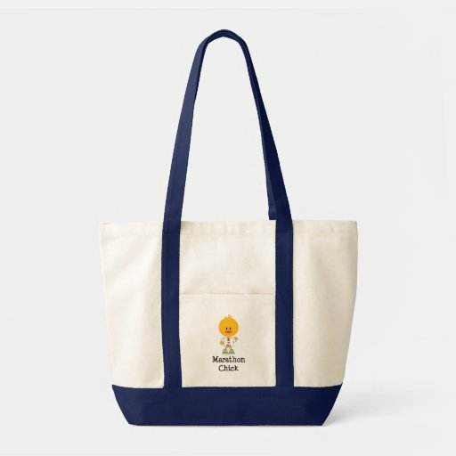 Marathon Chick Peace Love 26.2 Tote Bag