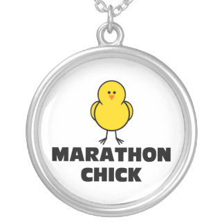 Marathon Chick Silver Plated Necklace