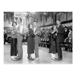 Marathon Dancers, 1923 Postcard