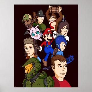 Marathon Gamers Poster