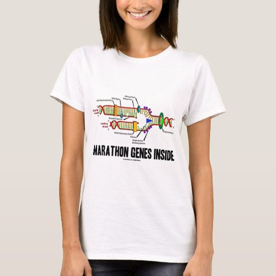 Marathon Genes Inside (DNA Replication) T-Shirt