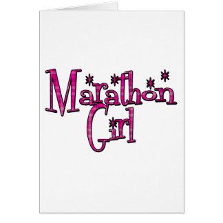Marathon Girl Card