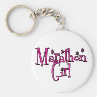 Marathon Girl Key Chain