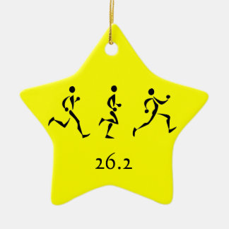Marathon Inspiration Christmas Ornament
