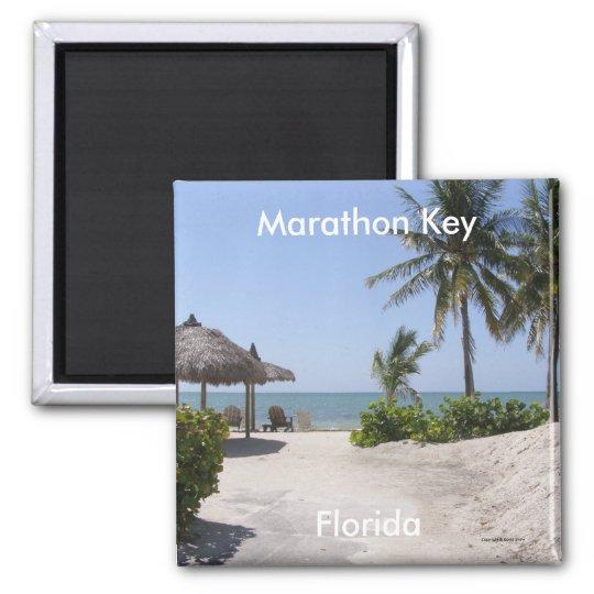 Marathon Key Square Magnet