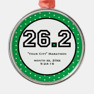 Marathon Ornament
