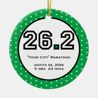 Marathon Ornament