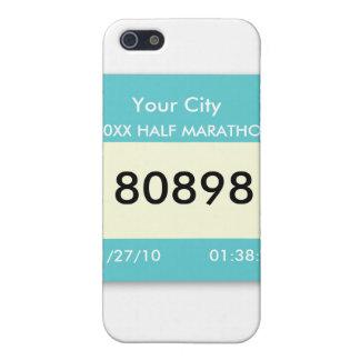 Marathon Race Bib on a  iPhone 5/5S Cover