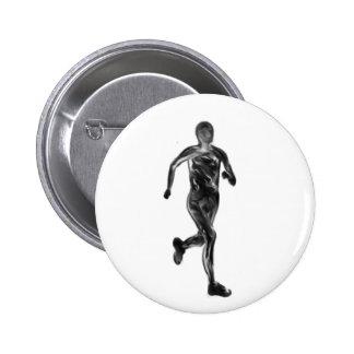 Marathon Runner Pins