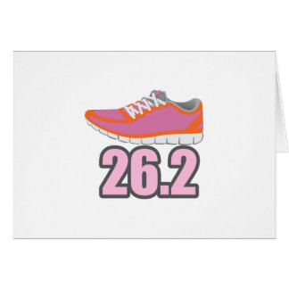 MARATHON RUNNER CARD